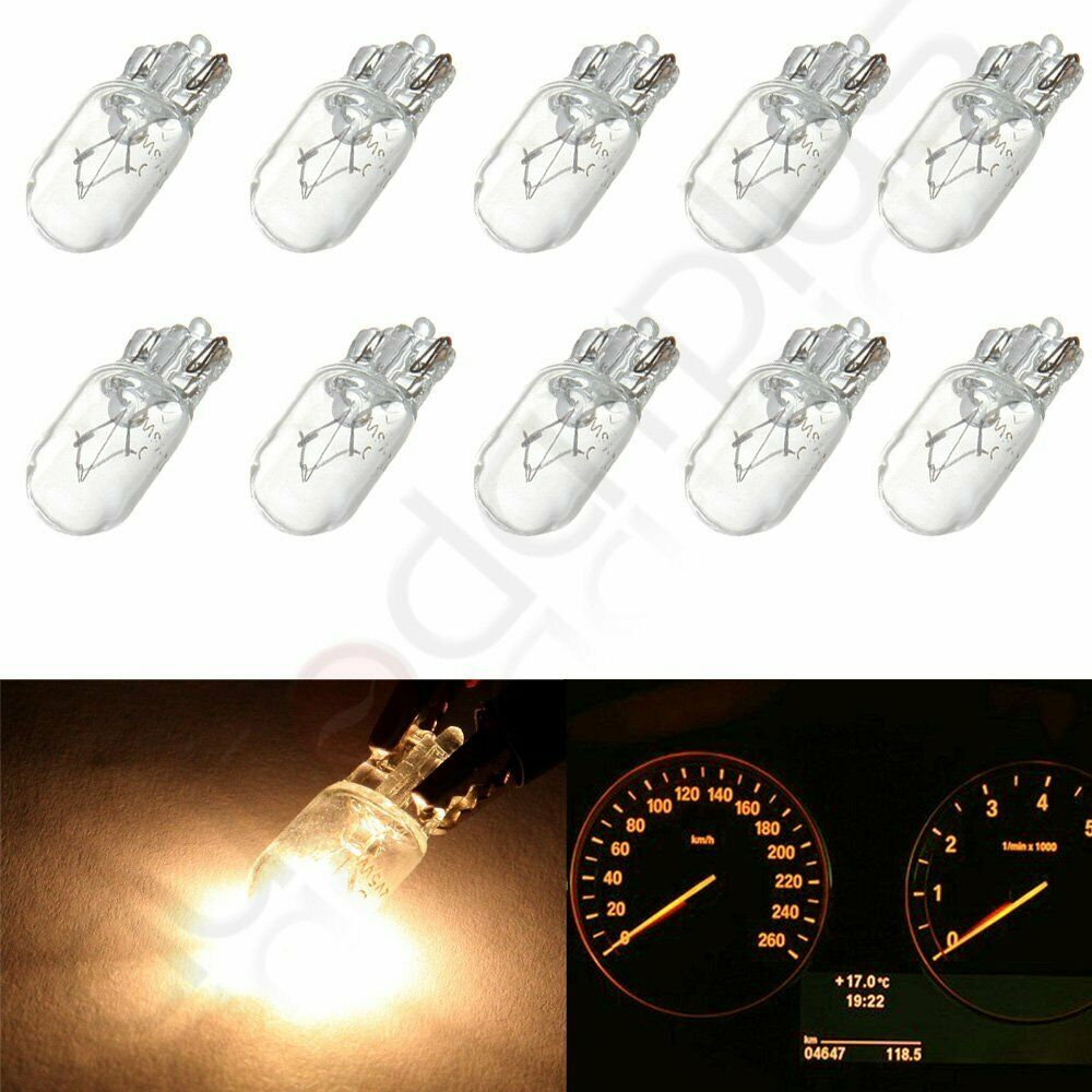 10x White Step Light Lamp Incandescent Bulb T10 168 194 For Gmc Sierra 2500 Hd Ebay