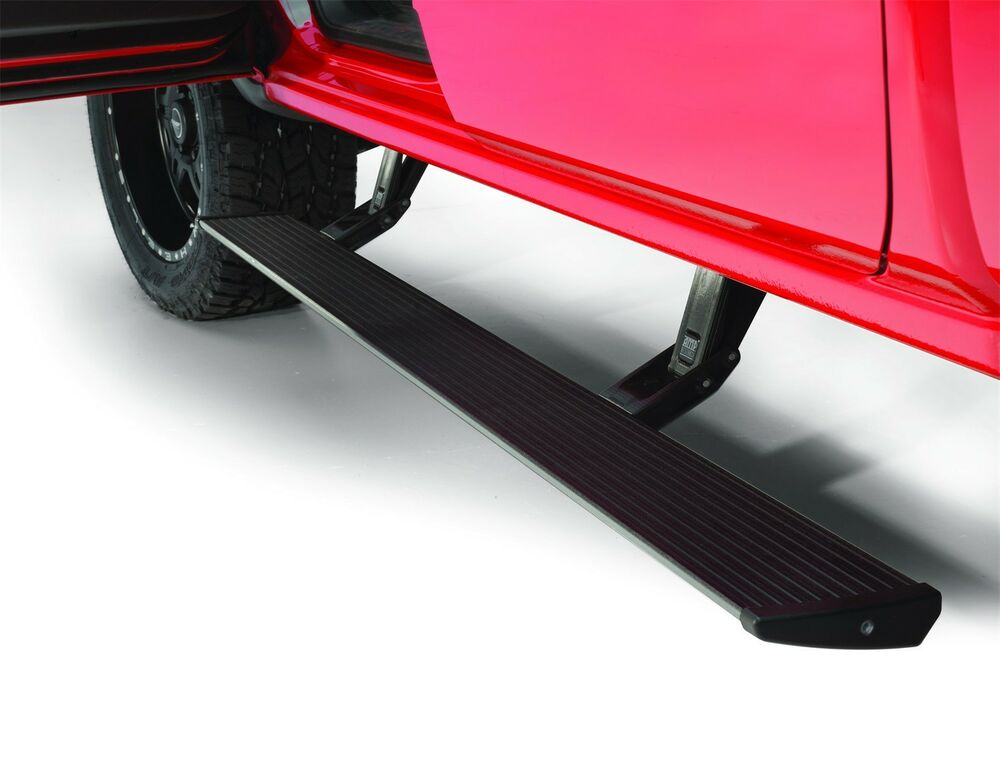 amp research powerstep running boards 75154 01a 2014 2017 chevy silverado 1500 ebay. Black Bedroom Furniture Sets. Home Design Ideas