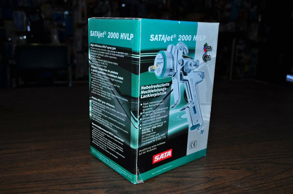 satajet 2000 hvlp digital 2 spray gun 1 4mm n 1 0 l alu. Black Bedroom Furniture Sets. Home Design Ideas