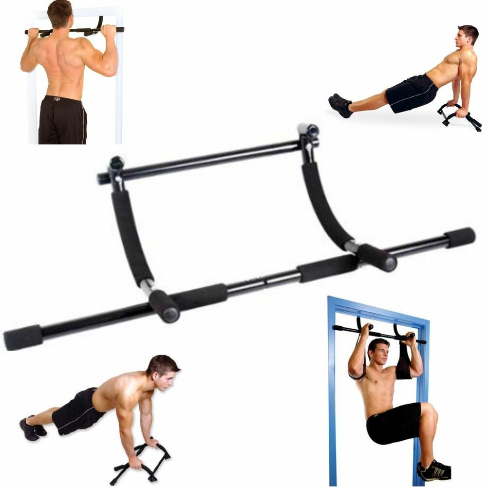 Cap Barbell Home Doorway Gym Fitness Pull Up Bar Total