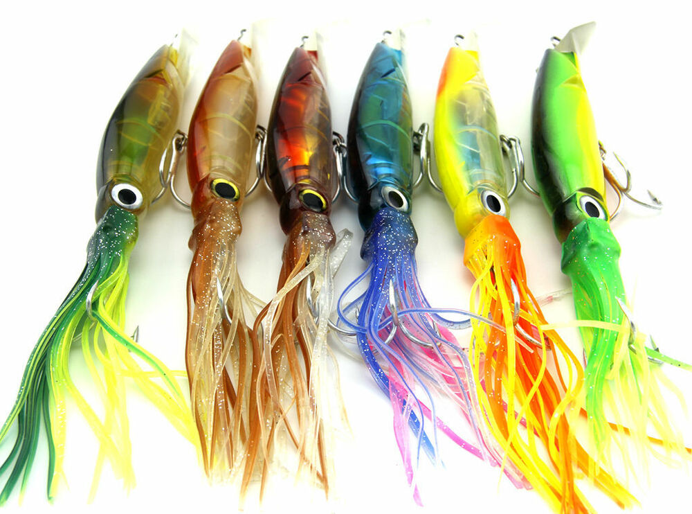 Big Size Octopus Squid Jig Fishing Lures Fishing Tackle ...
