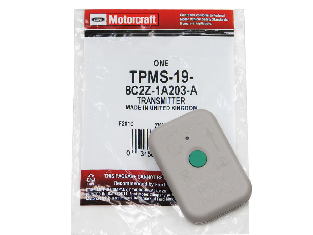 Ford Tire Pressure Monitor System Tpms Sensor Training