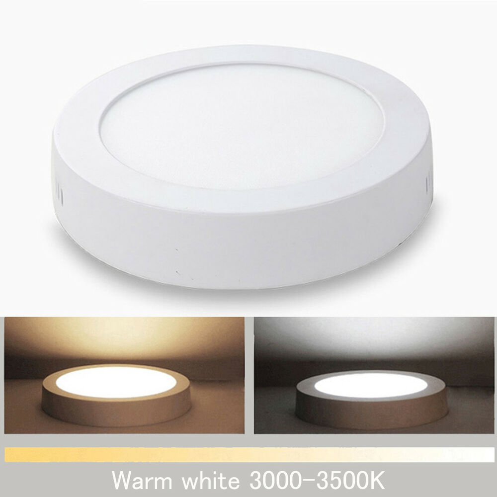 6w 12w 18w 24w Led Surface Panel Wall Ceiling Down Light