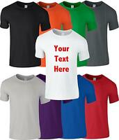 Custom Personalised Printed T-Shirts T Shirt Stag Hen Charity Wholesale - Mens