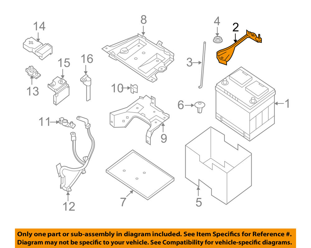 Nissan Oem Battery Hold Down Tie Bracket Clamp 24420zx60a Ebay 1996 Altima Wiring Diagram Related Keywords Suggestions