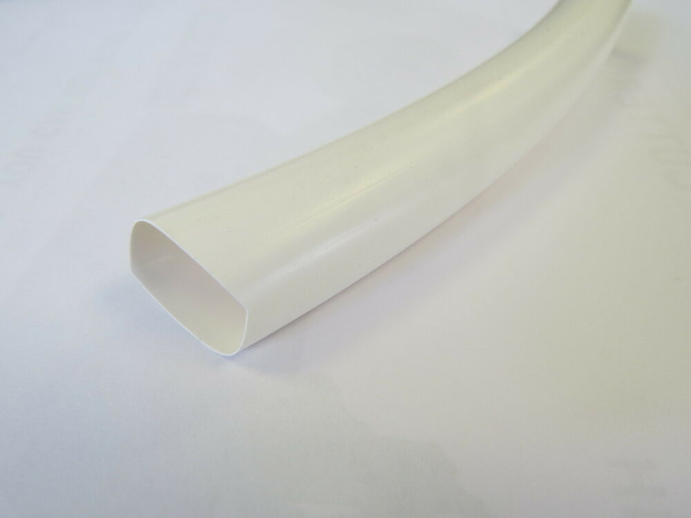 white pvc heat shrink car electrical tube sleeving cable. Black Bedroom Furniture Sets. Home Design Ideas