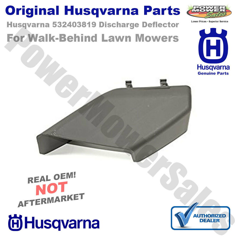 Husqvarna 532403819 Discharge Deflector For Walk Behind