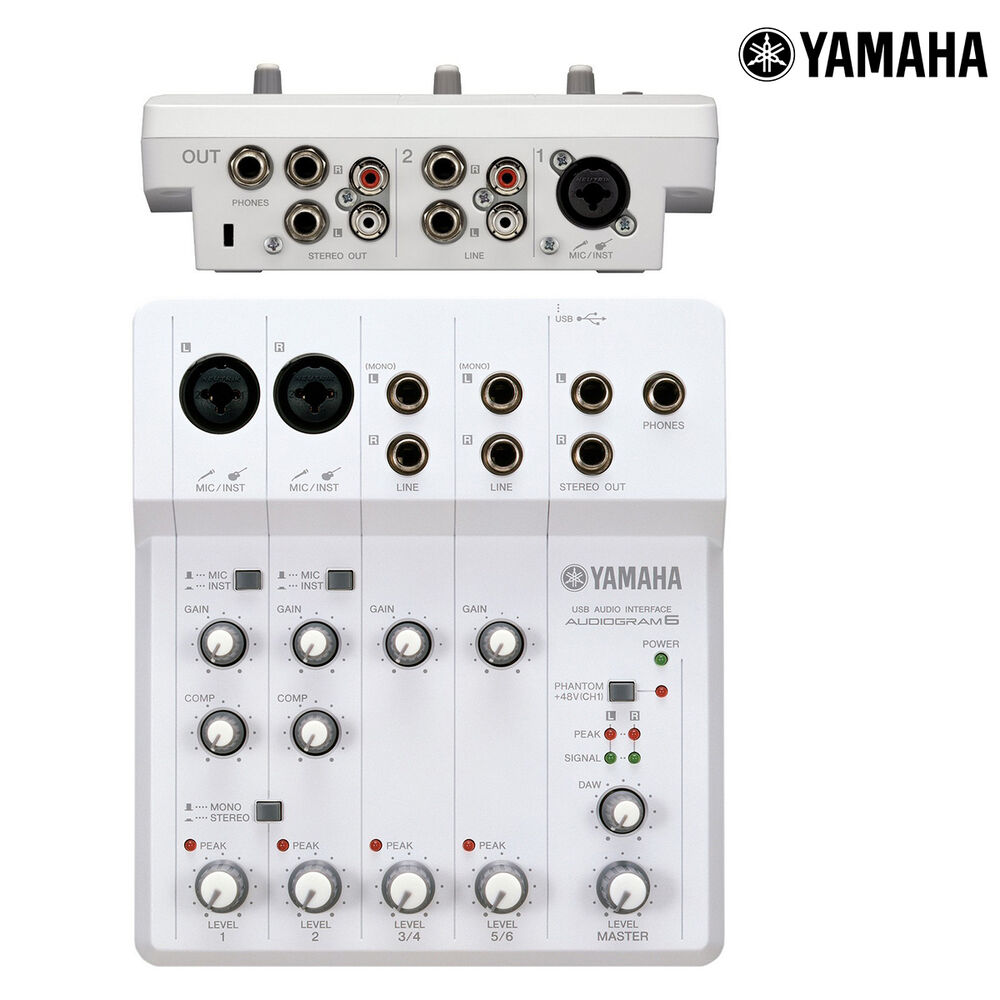 Usb Audio Interface Yamaha : yamaha audiogram 6 usb audio recording interface mixer ag6 l authorized dealer 86792884592 ebay ~ Hamham.info Haus und Dekorationen