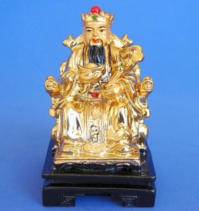 4 Quot Golden Feng Shui God Of Wealth Chinese Wealthy God