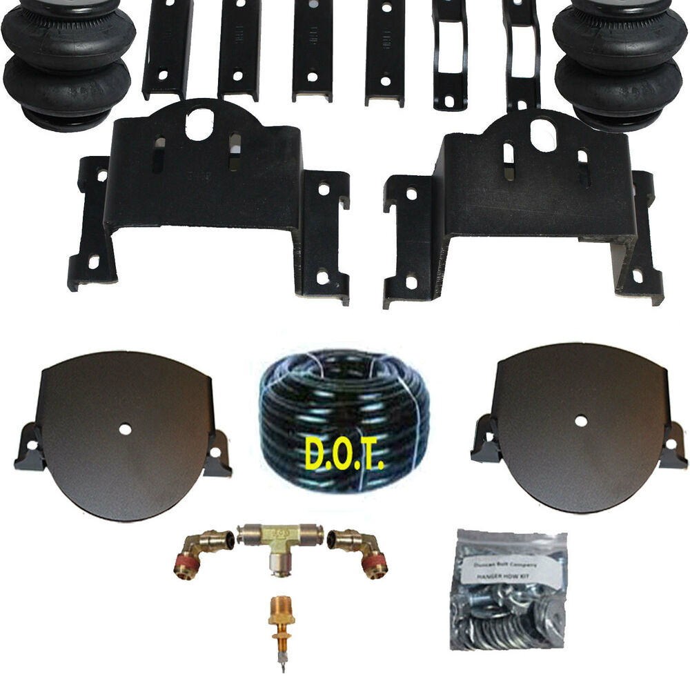 towing air bag kit bolt on 2011 2015 chevy 2500 3500 rear suspension load level ebay. Black Bedroom Furniture Sets. Home Design Ideas