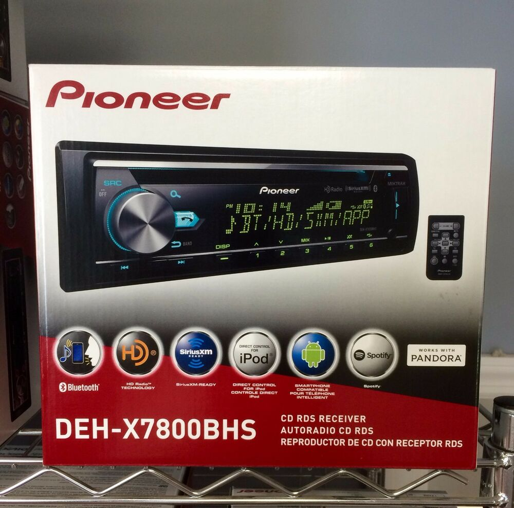 new pioneer dehx7800bhs cd receiver with built in. Black Bedroom Furniture Sets. Home Design Ideas