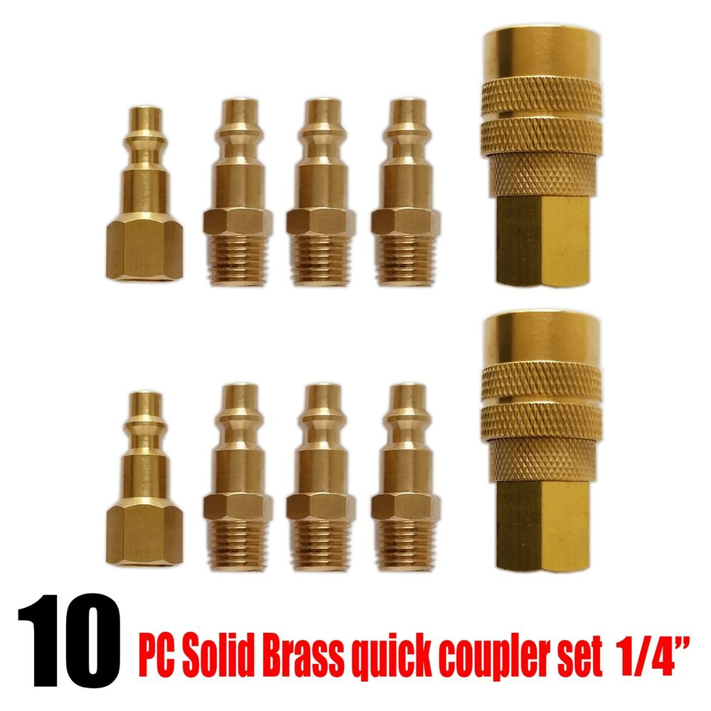 Pc heavy duty quick coupler air hose connector fittings
