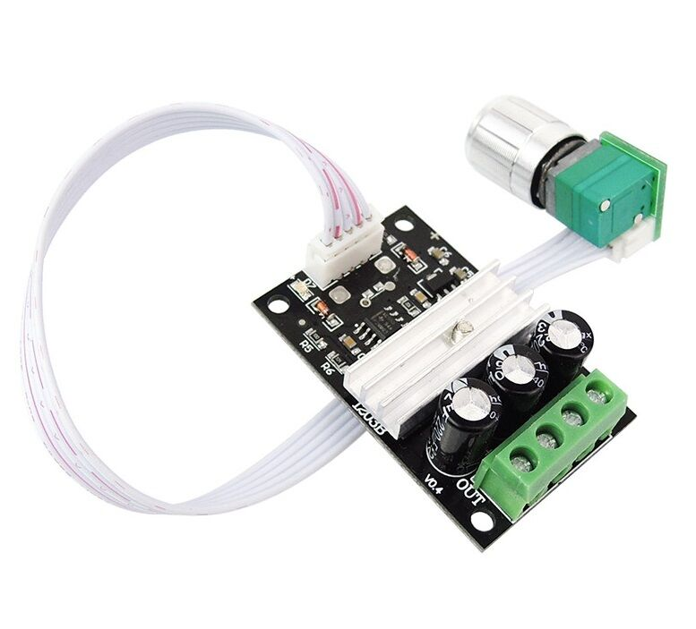 3a 12v 24v 28v 80w Dc Motor Speed Control Pwm Adjustable