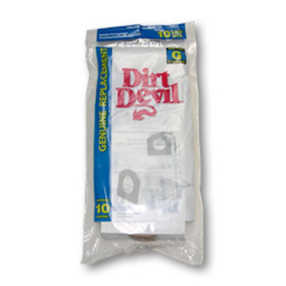 Dirt Devil Style G Vacuum Cleaner Bags - 10 Pack | eBay