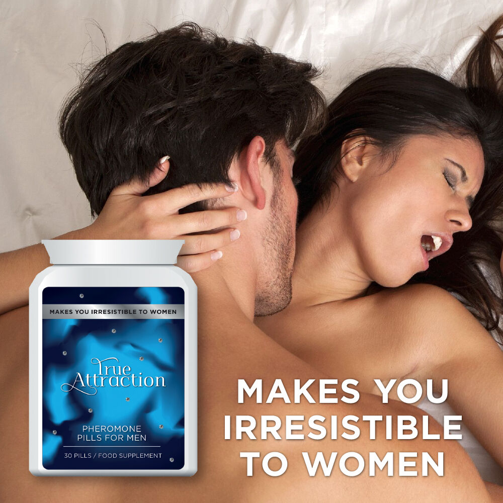 True Attraction Pheromone Pills For Men  Make Women Horny -7365