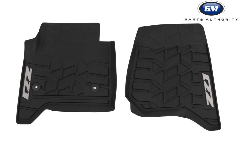 14 17 Chevrolet Silverado All Weather Front Mats 23453025