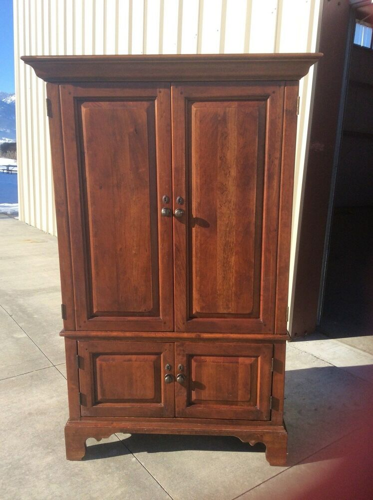 Bob Timberlake Cherry Family Room Entertainment Armoire Lexington Usa 833 314