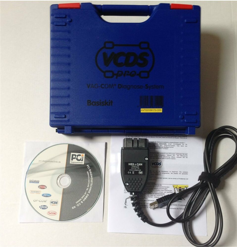 vcds hex can vag ross tech diagnoseinterface vcdspro basis kit obd2 eoa ebay. Black Bedroom Furniture Sets. Home Design Ideas