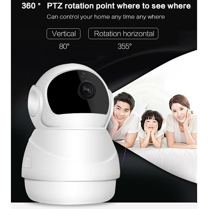 Tenvis Wireless WiFi HD 720P IP Camera Home Security ...