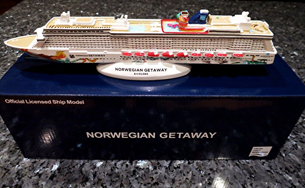 Ncl Norwegian Cruise Line Getaway Cruise Ship Model Ebay