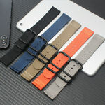 18mm/20mm Ballistic Durable Military Nylon Wrist Watch Band Strap