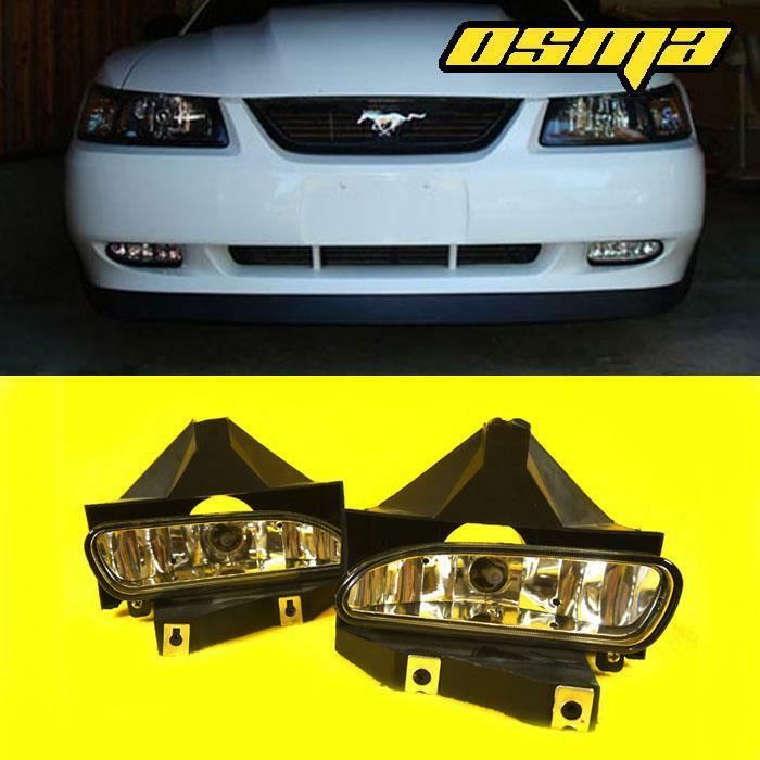 1999-2004 Ford Mustang GT Front Bumper Clear Fog Lights ...