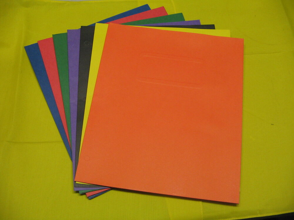 how to make paper pocket folders