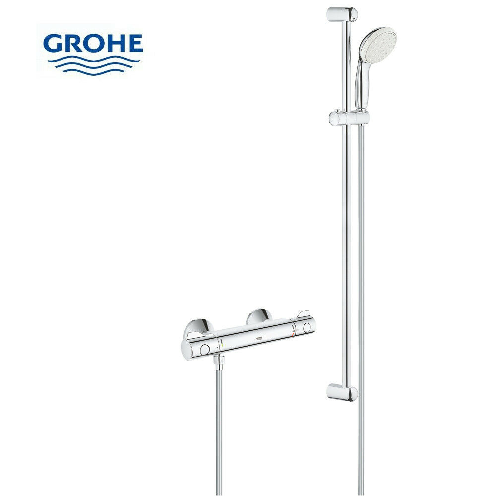 grohe grohtherm 800 brause thermostat dusche armatur 34566000 34566. Black Bedroom Furniture Sets. Home Design Ideas