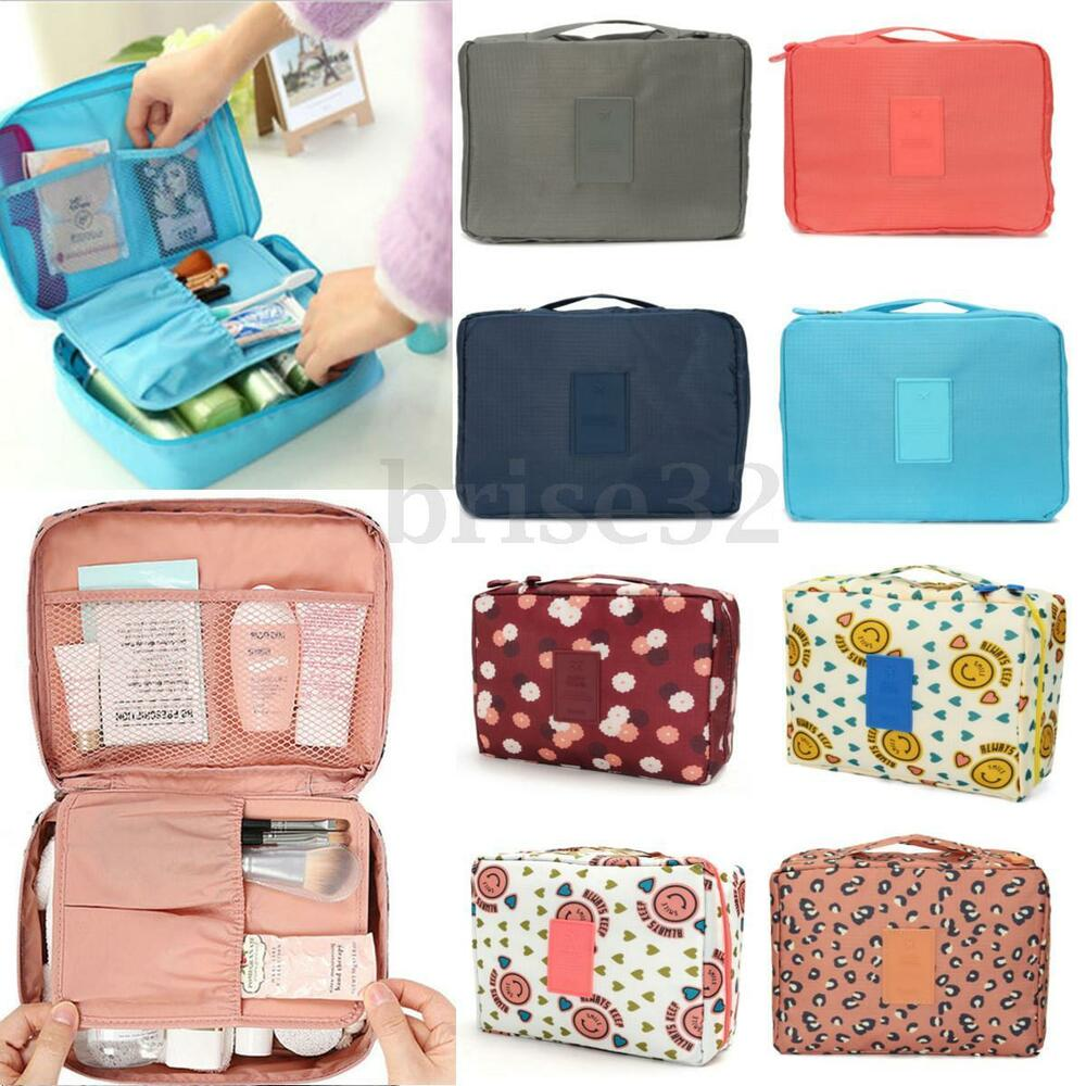 Cosmetic Makeup Bag Toiletry Case Wash Organizer Storage Hanging ...