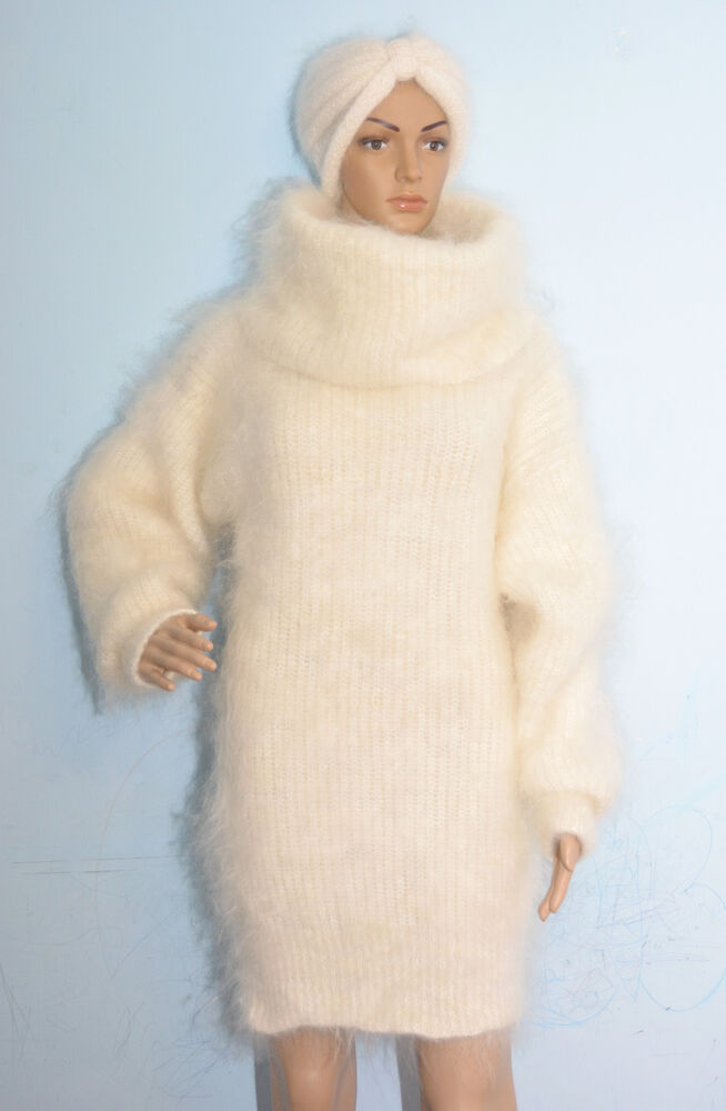NEW Mohair Sweater Longhair 100% Goat Down soft VERY WARM ...