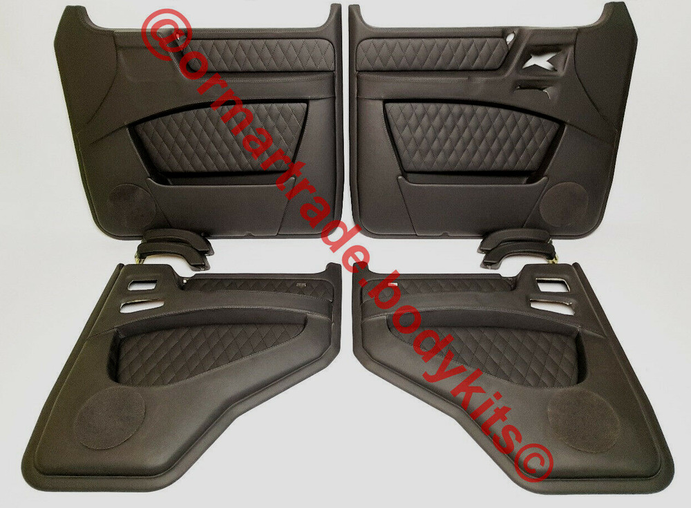 Brabus style mercedes w463 g class g63 g65 front lip for Mercedes benz g500 parts accessories