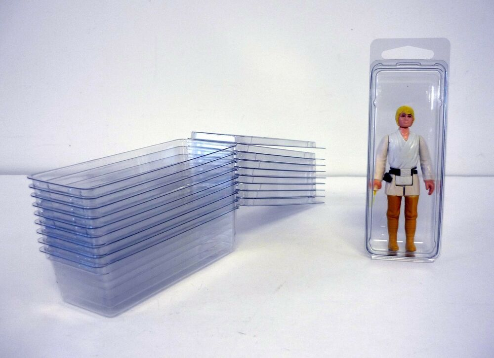 Star wars blister case lot of 10 action figure protective for Clamshell casing