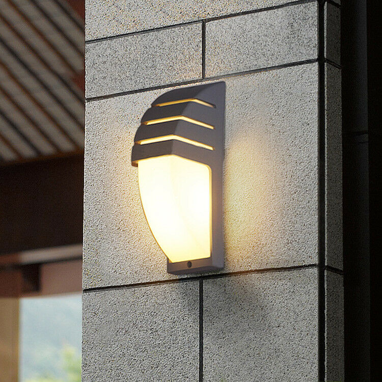 7W LED Outdoor Exterior Wall Sconces Light Fixture Yard
