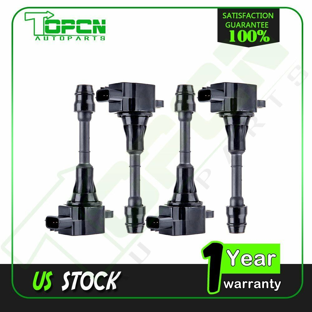 06 Nissan Altima >> pack of 4 Ignition Coils FOR 02 03 04 05 06 ALTIMA 2.5L L4 | eBay