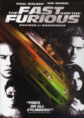 The Fast and the Furious (DVD) Paul Walker Vin Diesel ...