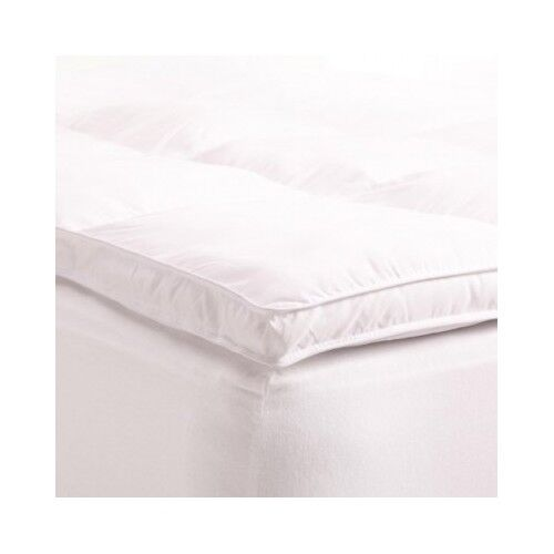 Queen mattress topper pillow bed top soft down alternative for Best soft bed pillows