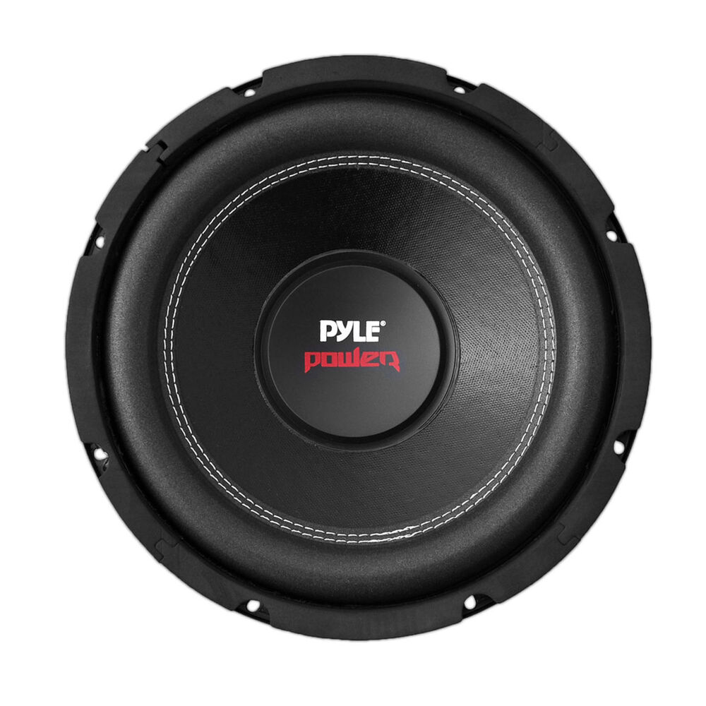 pyle dual car subwoofer 1000 watt 4 ohm 10 inch bass audio. Black Bedroom Furniture Sets. Home Design Ideas