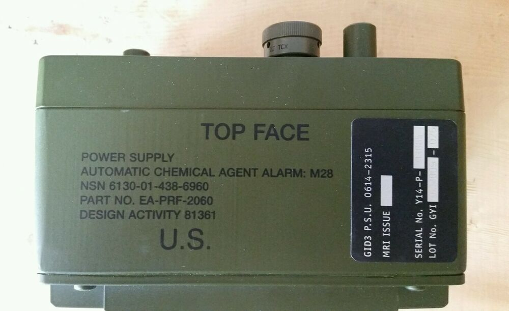 New Us Military Power Supply Battery Chemical Agent
