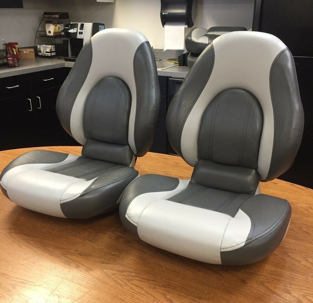 Boat Seats Tempress Dlx Centric Charcoal Gray Replacement