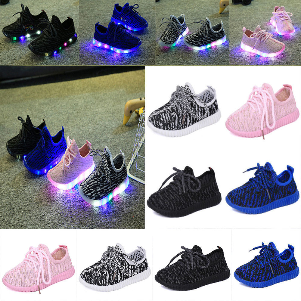 ... Luminous Sneakers Running shoes Led Light Up Sneaker Shoes - eBay
