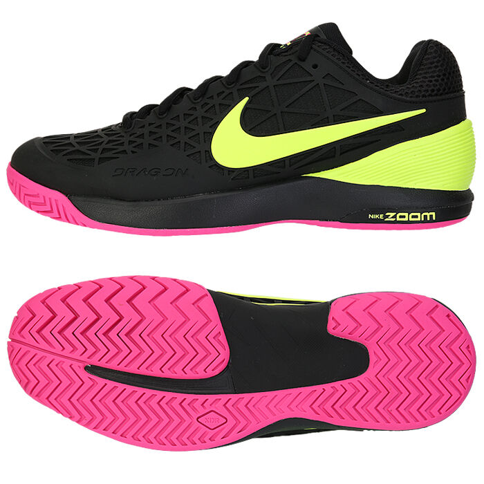 Nike Green And Pink Tennis Shoes