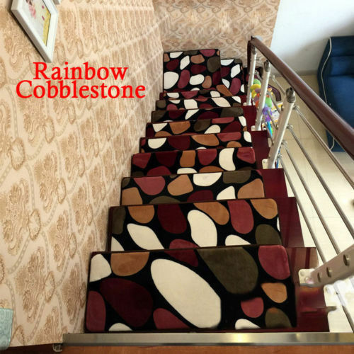 Hot Sale 1 14 15 16 17 18pcs Home Hotel Stair Treads Non