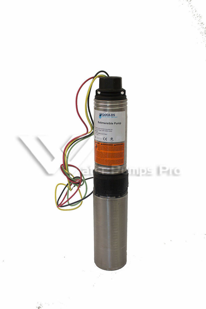 25hs10412cl Goulds 25gpm 1hp Submersible Water Well Pump