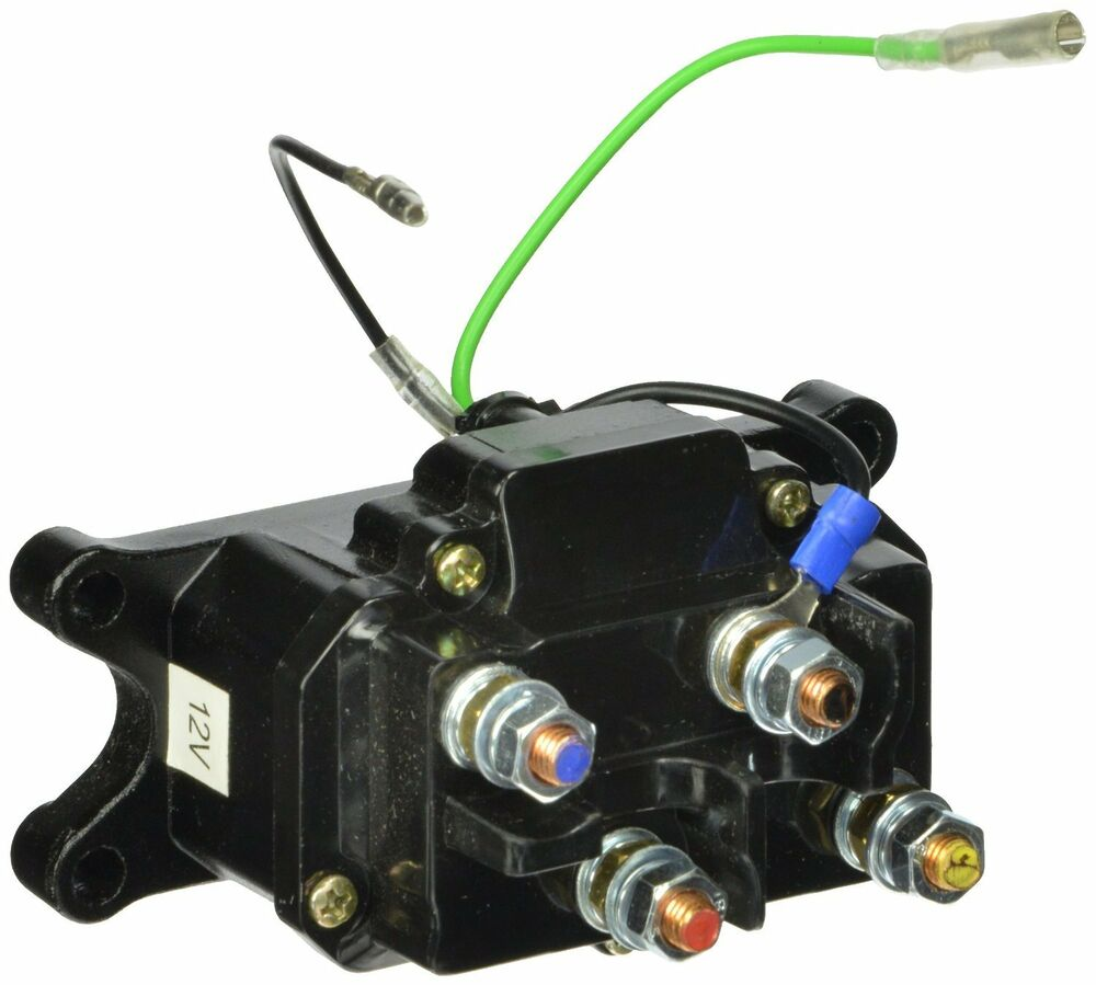 Ramsey Winch Solenoid Diagram Not Lossing Wiring Warn Additionally Contactor Switch Kfi Champion