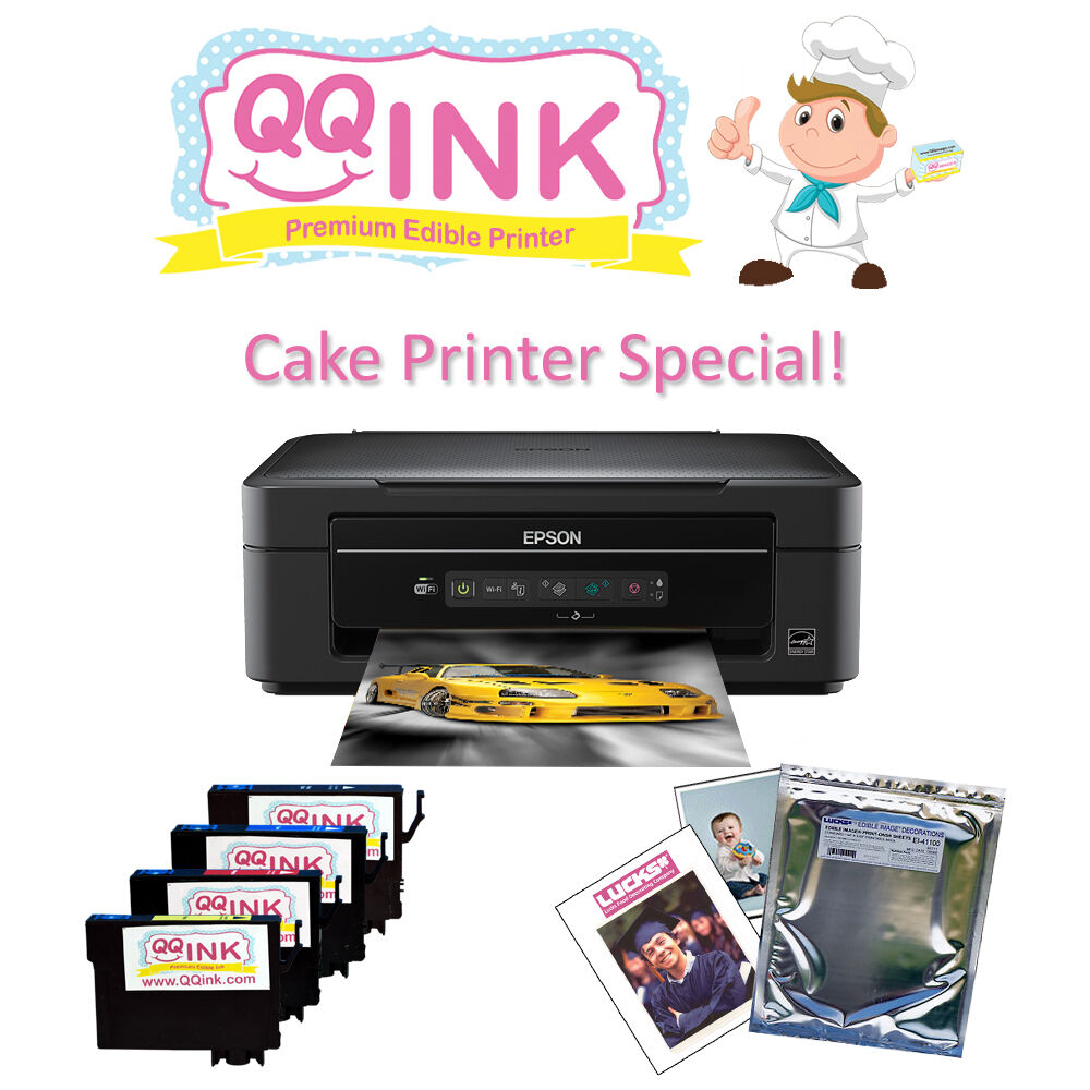 Edible Ink Paper Cakes