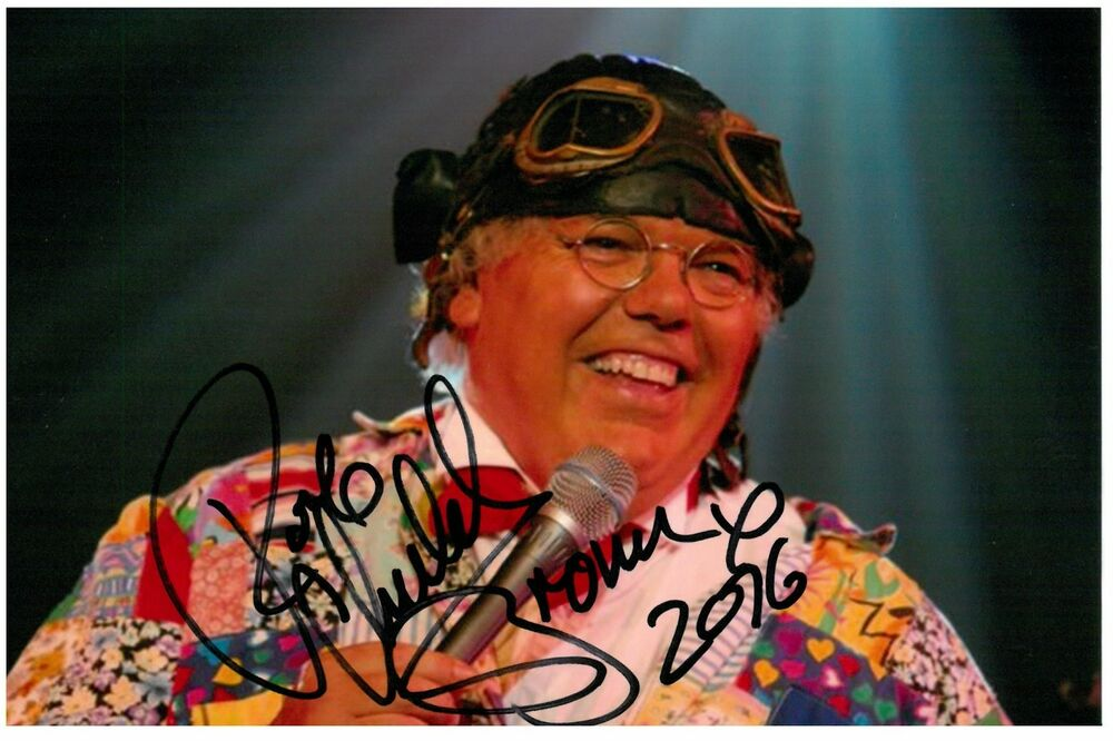 Details about Roy Chubby Brown Signed 6x4 Photo Comedian Genuine Autograph  Memorabilia + COA