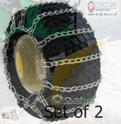 Peerless max trac tire chains 24x9 - Garden tractor tires 23x10 50 12 ...