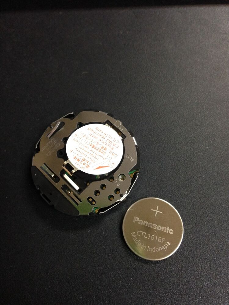 Ctl1616f rechargeable battery for g shock frogman gwf 1000 series ebay for Watches battery