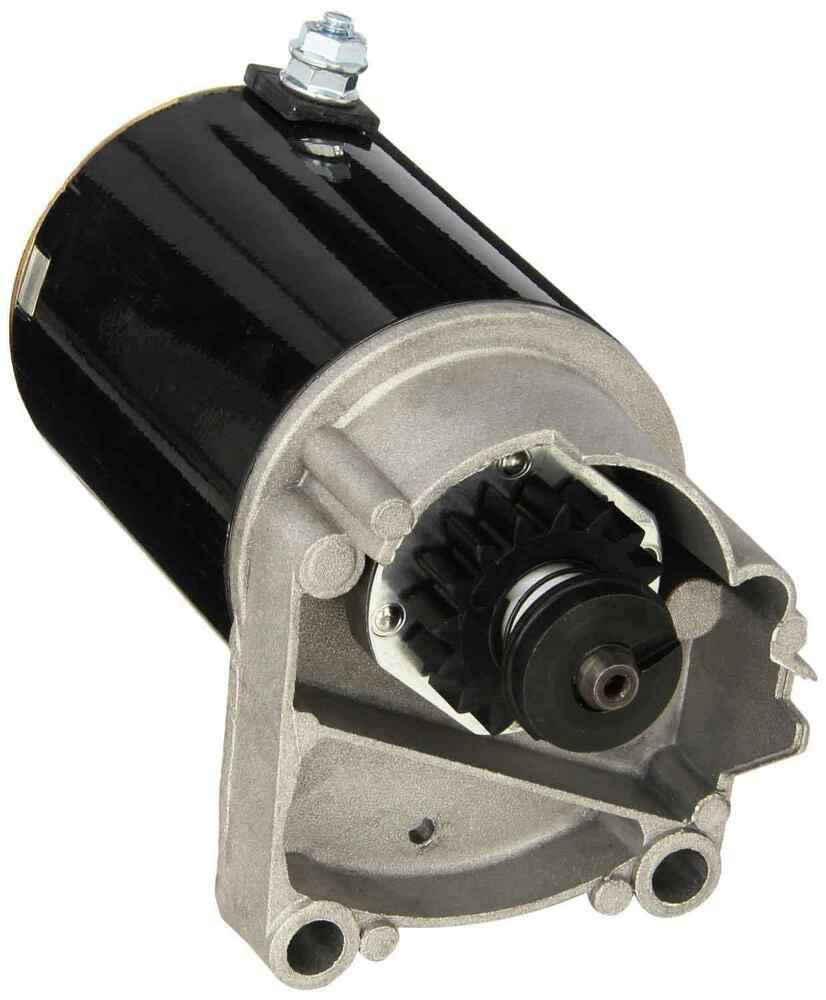 Mower Motor Parts : Briggs and stratton lawn mower starter motor hp