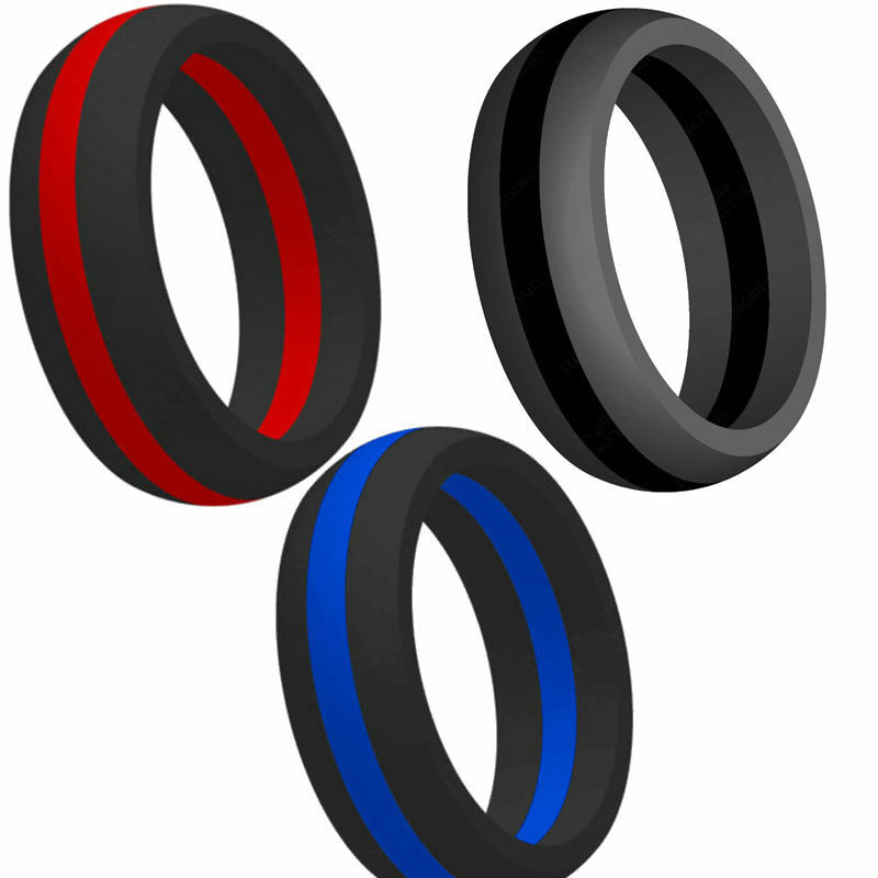 rubber wedding rings size 5 15 silicone rubber ring alternative fitness cross 7175